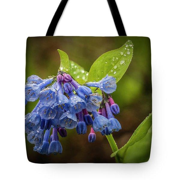 Rain Drop Bells Tote Bag
