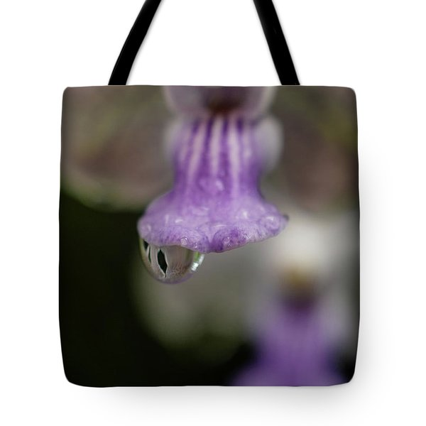 Rain Drop Tote Bag