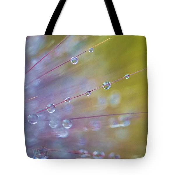 Tote Bag featuring the photograph Rain Drops - 9753 by G L Sarti