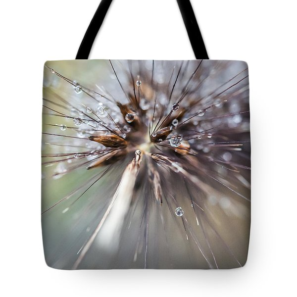 Tote Bag featuring the photograph Rain Drops - 9756 by G L Sarti