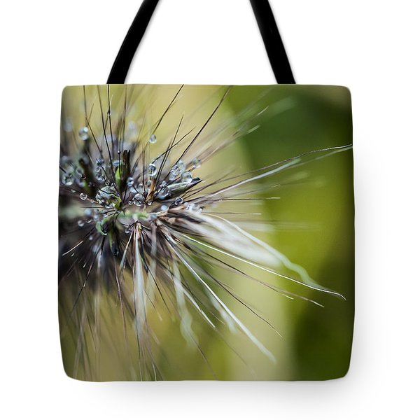 Tote Bag featuring the photograph Rain Drops - 9760 by G L Sarti