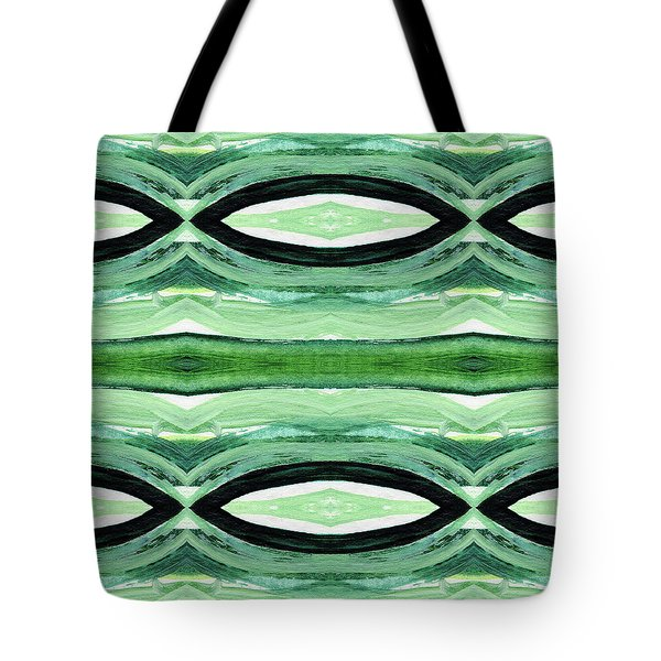 Rain Forest- Art By Linda Woods Tote Bag