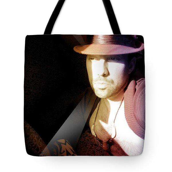 Rain Hat Tote Bag