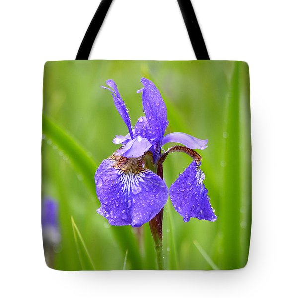 Rain Kissed Tote Bag