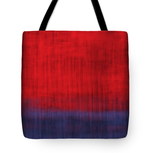 Rain On A Hot Day Tote Bag