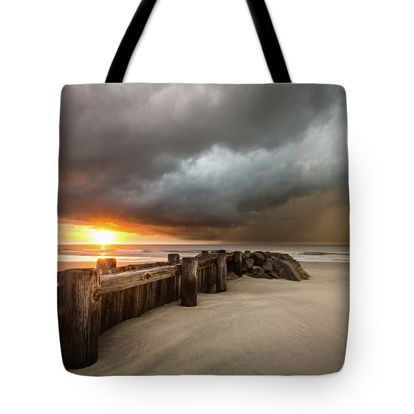 New Beginnings, Pawleys Island Sunrise Tote Bag