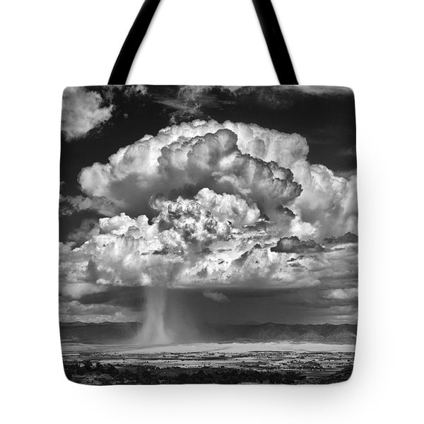 Tote Bag featuring the photograph Rain Over Fruita Colorado II by ELDavis Photography