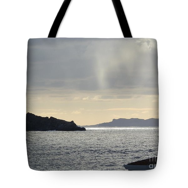 Rain Over Pelican Key Tote Bag