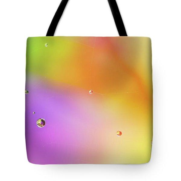 Rain Pearls Tote Bag