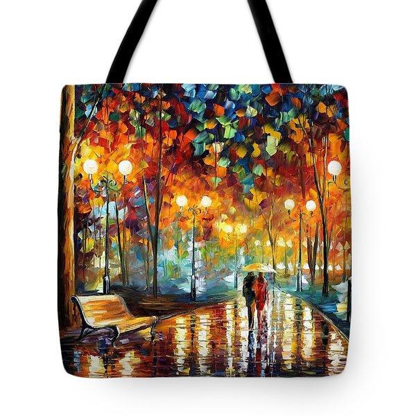 Rain Rustle Tote Bag
