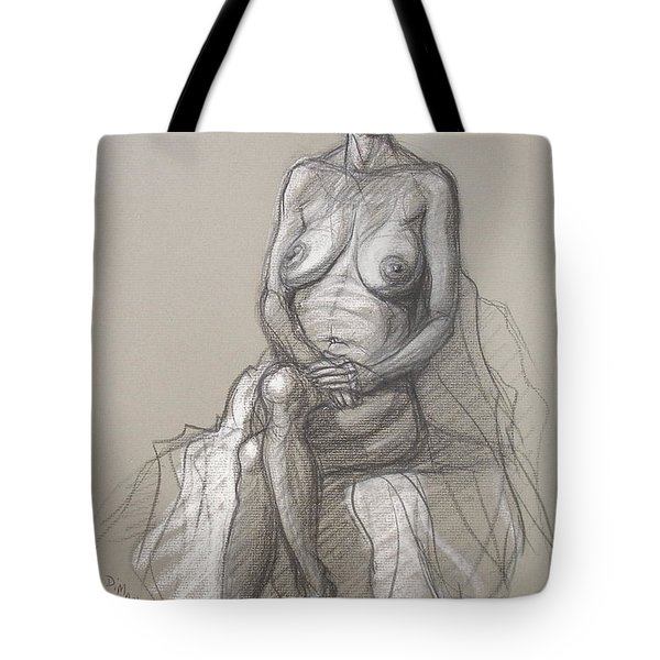Rain Seated #2 Tote Bag