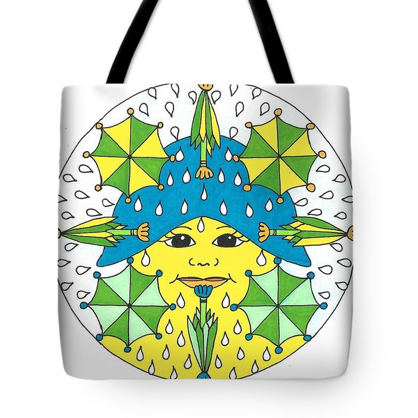 Rain Showers Tote Bag