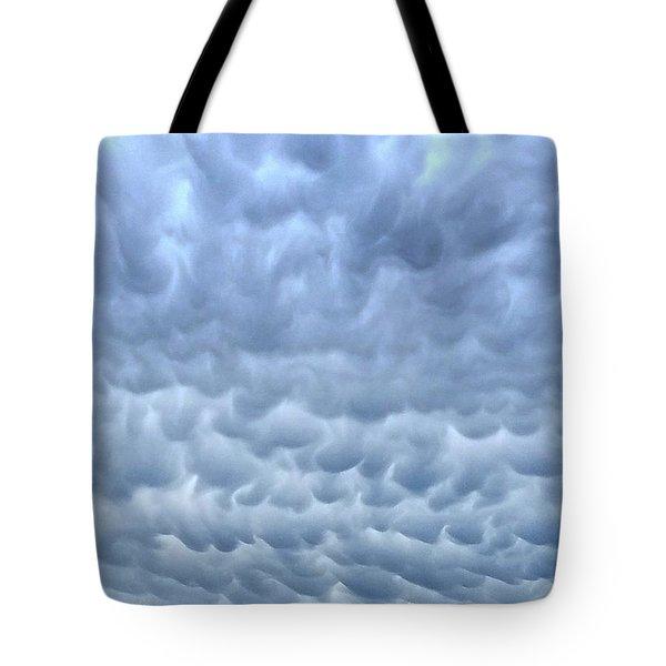 Rain Warning Tote Bag