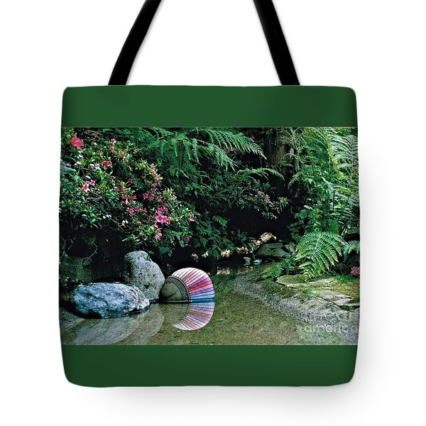 Rainbow 2 Tote Bag by Delores Malcomson