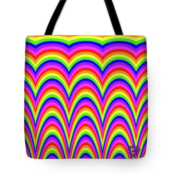 Rainbow #4 Tote Bag