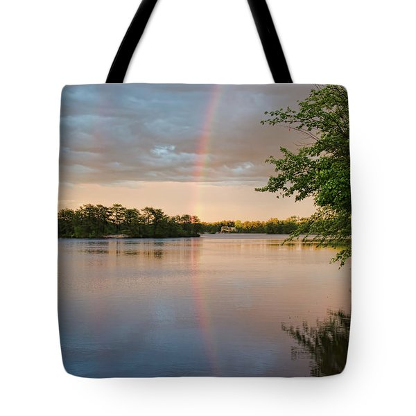 Rainbow After The Storm Tote Bag