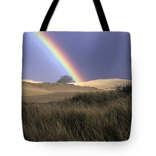 Rainbow And Dunes Tote Bag