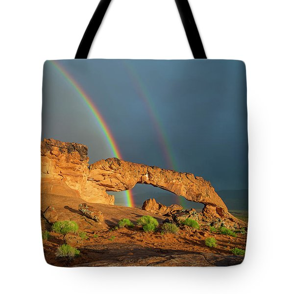 Rainbow Arch Tote Bag