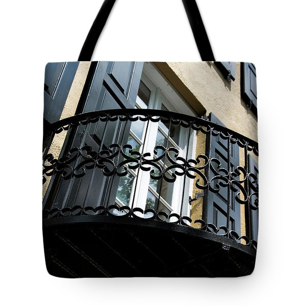 Rainbow Balcony Tote Bag