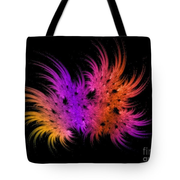 Rainbow Bouquet Tote Bag