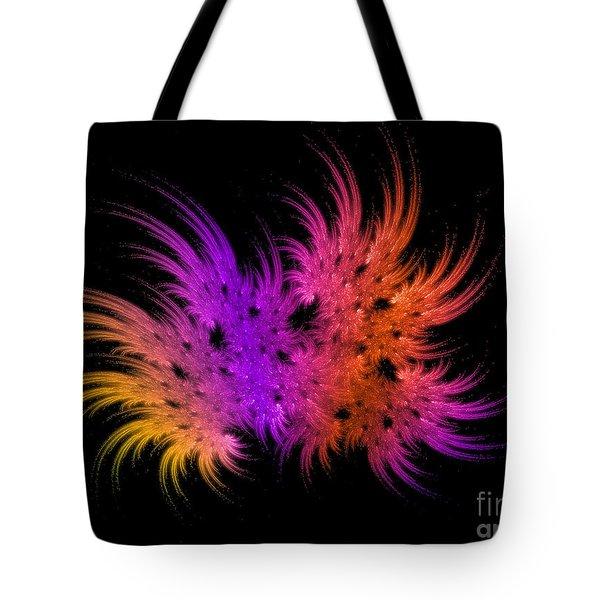 Rainbow Bouquet Tote Bag