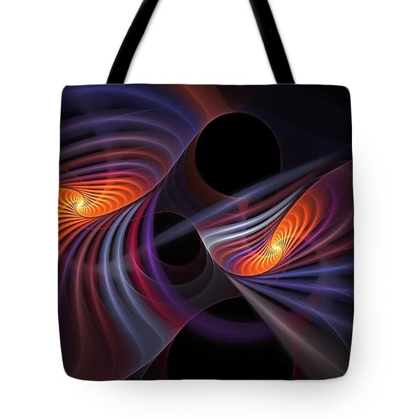 Rainbow Bridge Tote Bag
