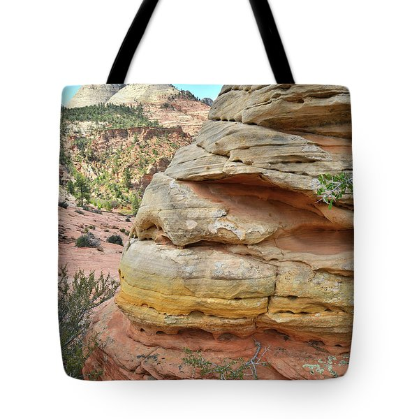 Rainbow Butte Tote Bag