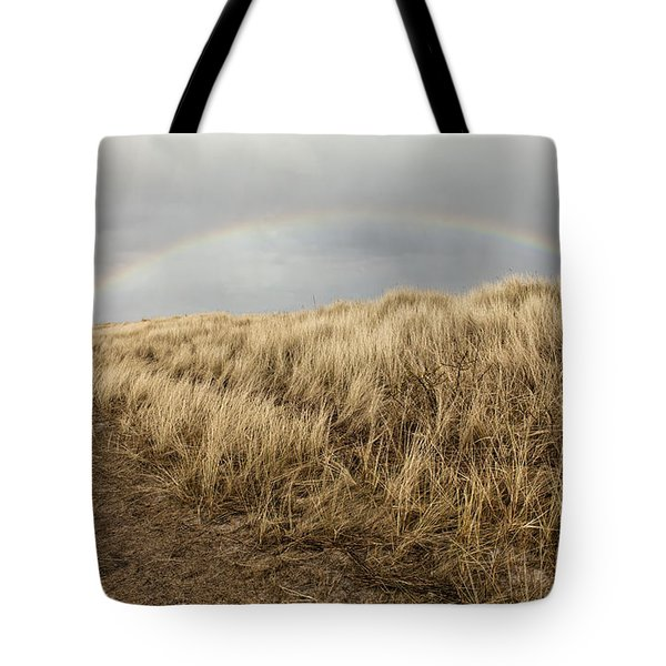 Rainbow By The Seaside Tote Bag