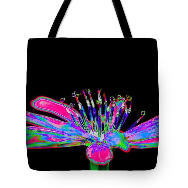 Rainbow Chicory Tote Bag