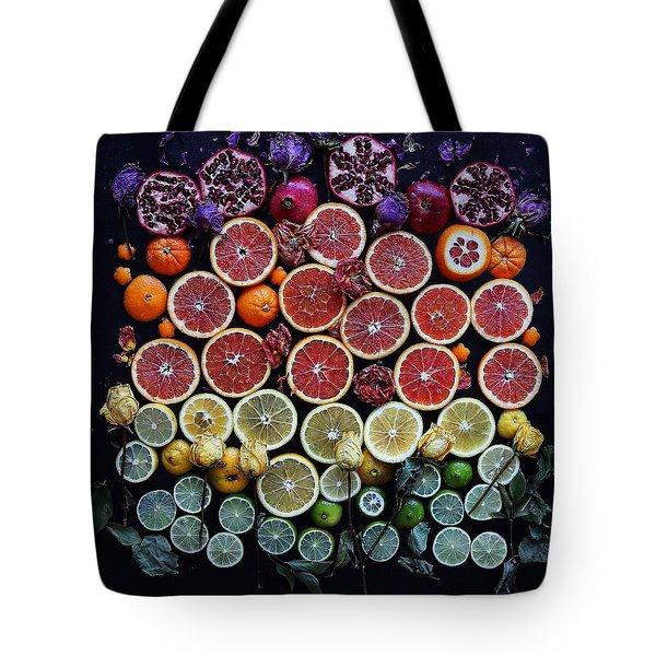 Rainbow Citrus Etc Tote Bag