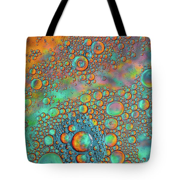Rainbow Color Flow Tote Bag