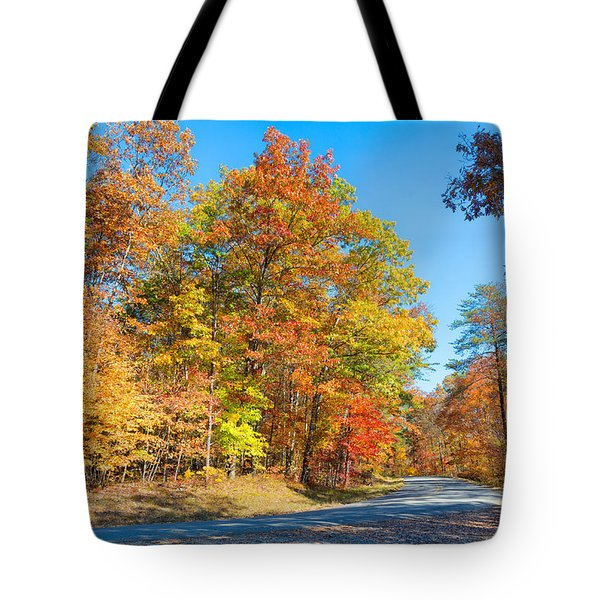 Rainbow Colored Drive Tote Bag