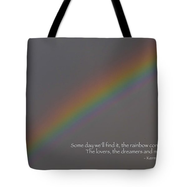 Rainbow Connection Tote Bag by Julia Wilcox