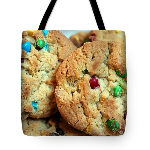 Rainbow Cookies Tote Bag by Barbara Griffin