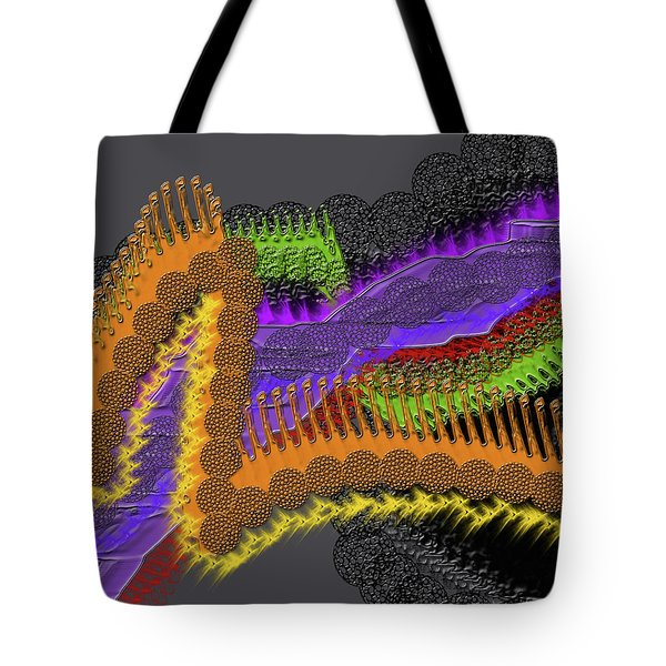 Rainbow Currents Tote Bag