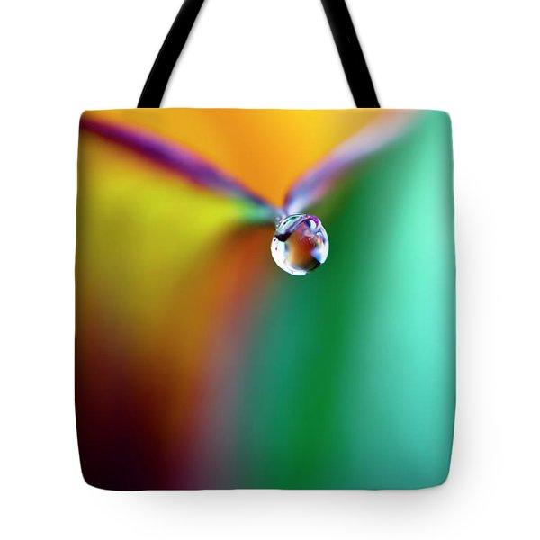 Rainbow Drop Tote Bag