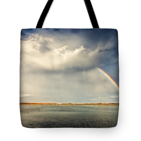Rainbow Tote Bag by Evgeni Dinev