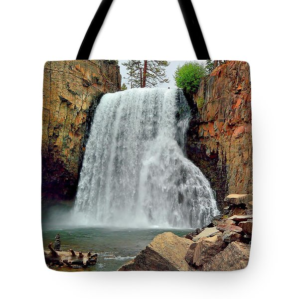 Rainbow Falls 10 Tote Bag