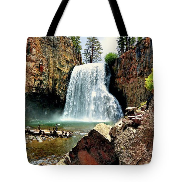 Rainbow Falls 15 Tote Bag