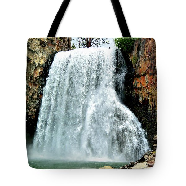 Rainbow Falls 16 Tote Bag