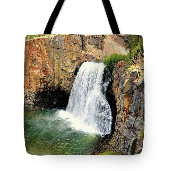 Rainbow Falls 3 Tote Bag