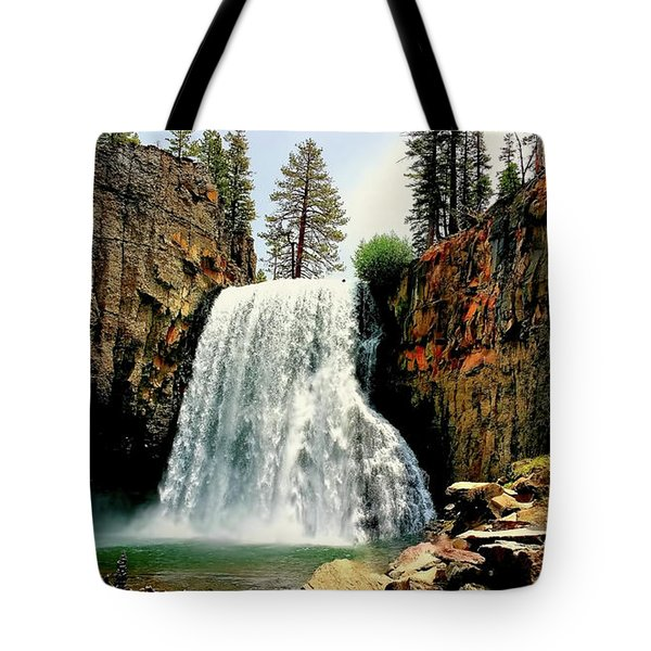 Rainbow Falls 8 Tote Bag