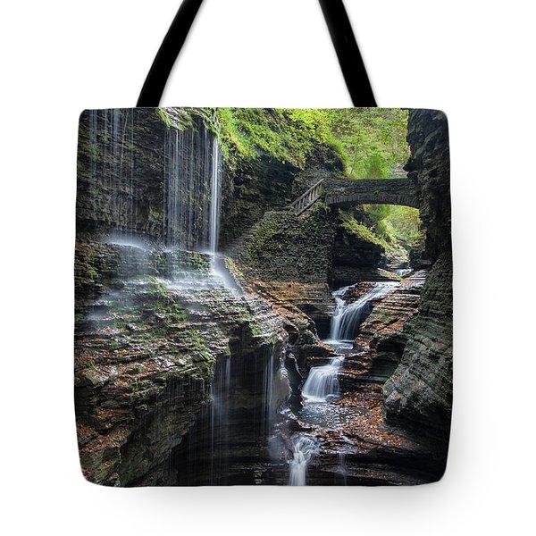 Rainbow Falls, Ny Tote Bag