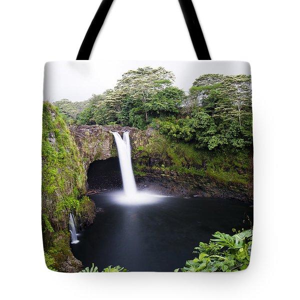 Rainbow Falls Tote Bag