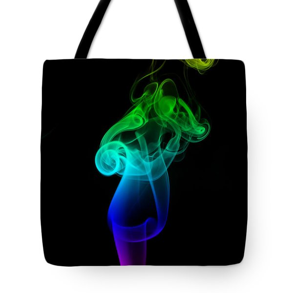 Rainbow Flame Tote Bag by Alexander Butler