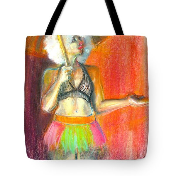 Tote Bag featuring the drawing Rainbow by Gabrielle Wilson-Sealy