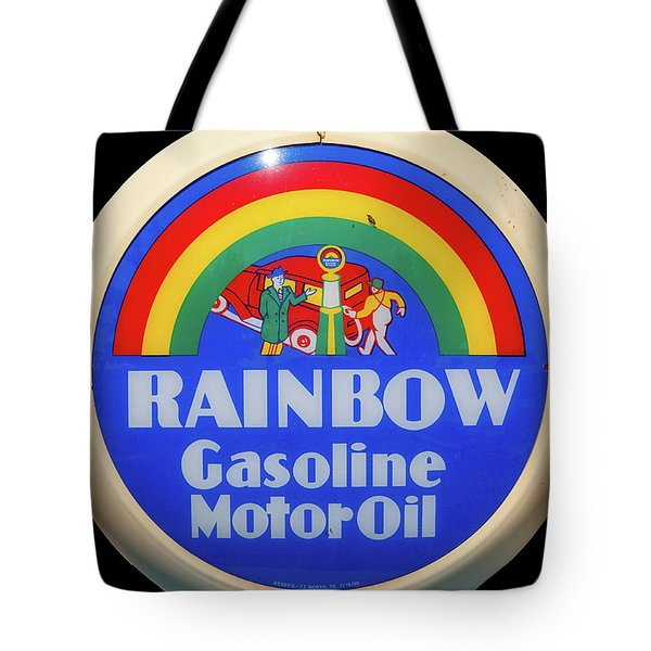 Rainbow Gasoline Tote Bag
