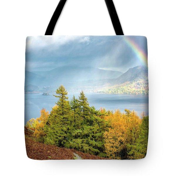 Rainbow Gold Tote Bag