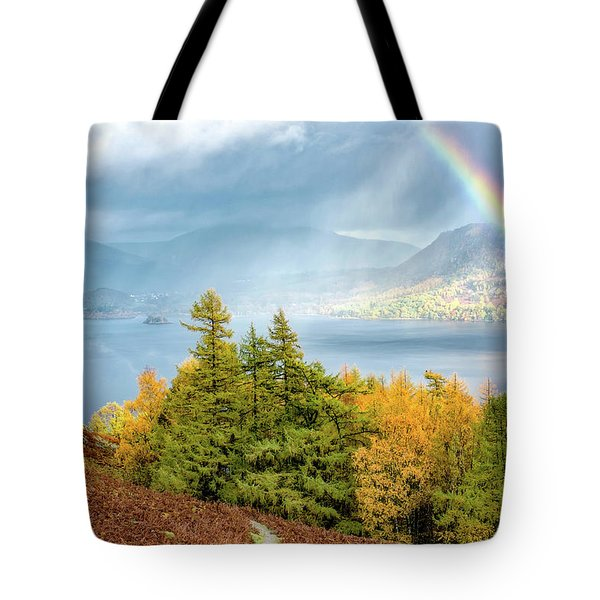 Rainbow Gold Tote Bag