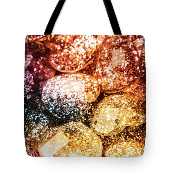 Rainbow Heart Art Tote Bag